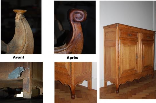 restauration de meubles anciens. Black Bedroom Furniture Sets. Home Design Ideas